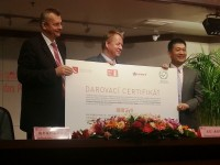 Donation of Czech pediatric hospital beds to Beijing Children's Hospital