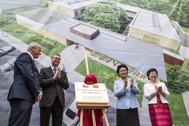 First Czech-Chinese Centre for Traditional Chinese Medicine Research Opens